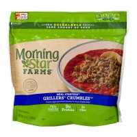 Morning Star Farms Meal Starters Grillers Crumbles - 12.0 OZ