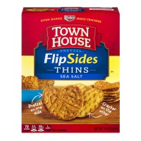 Keebler Town House FlipSides Pretzel Thins Sea Salt - 10.0 OZ