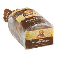 Rudis Organic Bakery Bread - 100% Whole Wheat - 22.0 OZ