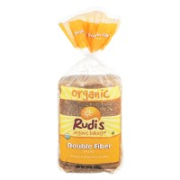 Rudis Organic Bakery Bread - Double Fiber - 24.0 OZ