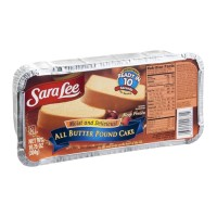 Sara Lee Pound Cake All Butter - 10.75 OZ