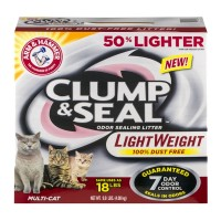 Arm & Hammer Clump & Seal Odor Sealing Litter Multi-Cat 9.0 lbs