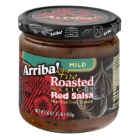 Arriba! Fire Roasted Mexican Red Salsa Mild - 16.0 OZ