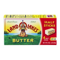 Land O'Lakes Butter Sweet Cream Salted Half Sticks - 4 CT / 8 OZ