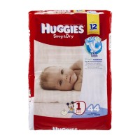 Huggies Snug & Dry Disney Baby Stage 1 Diapers (8-14 lb) - 44 CT