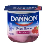 Dannon Fruit on the Bottom Lowfat Yogurt - Raspberry 6 OZ
