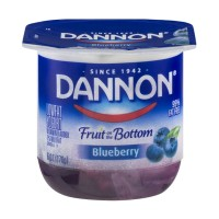 Dannon Fruit on the Bottom Lowfat Yogurt - Blueberry 6 OZ