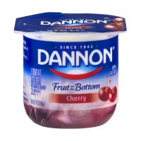 Dannon Fruit on the Bottom Lowfat Yogurt - Cherry 6 OZ