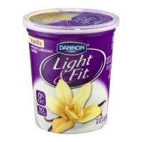 Dannon Light And Fit Yogurt - Nonfat - Vanilla 32 OZ