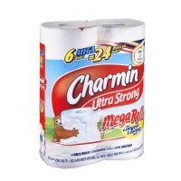 Charmin Bathroom Tissue - Ultra Strong - Mega Rolls - 6 CT