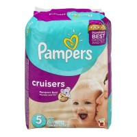Pampers Cruisers Diapers Size 5 - 21 CT