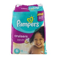 Pampers Cruisers Diapers Size 6 - 18 CT