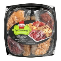 Hormel Gatherings Party Tray - Hard Salami & Pepperoni 28 OZ
