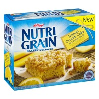 Kellogg's Nutri Grain Bakery Delights Lemon Crumb Cake - 5 CT
