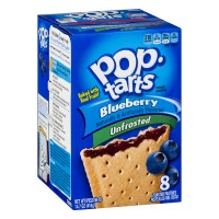 Kellogg's Pop-Tarts Blueberry Unfrosted - 8 CT
