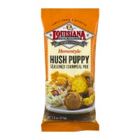 Louisiana Homestyle Hush Puppy Seasoned Cornmeal Mix - 7.5 OZ