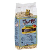 Bob's Red Mill Organic Rolled Oats Old Fashioned Whole Grain - 16.0 OZ