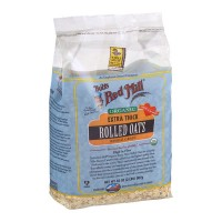 Bob's Red Mill Organic Extra Thick Rolled Oats Whole Grain - 32.0 OZ