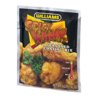 Williams Spicy Wings Seasoned Coating Mix - 5.0 OZ