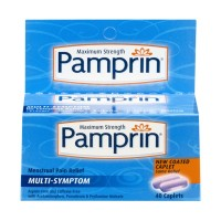 Pamprin Maximum Strength Multi-Symptom Menstrual Pain Relief Caplets - 20 CT