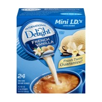 International Delight Coffee Creamer - Singles - French Vanilla - 24 CT