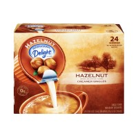 International Delight Coffee Creamer - Singles - Hazelnut - 24 CT