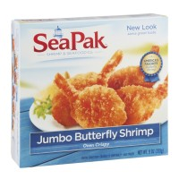 SeaPak Jumbo Butterfly Shrimp - 9.0 OZ