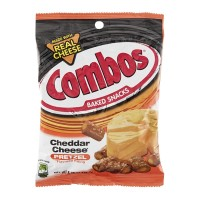 Combos Baked Snacks - Cheddar Cheese Pretzel 6.3 OZ