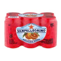 San Pellegrino Italian Sparkling Water Blood Orange - 6 CT / 11.15 FL OZ