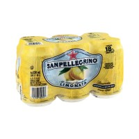 Sanpellegrino Sparkling  Beverage - Limonata (Lemon) - 6 CT  / 11.15 FL OZ
