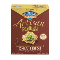 Blue Diamond Gluten Free Artisan Nut-Thins Chia Seeds - 4.25 OZ