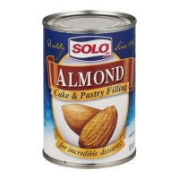 Solo Cake & Pastry Filling - Almond 12.5 OZ