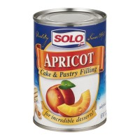 Solo Cake & Pastry Filling - Apricot 12 OZ