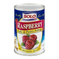 Solo Cake & Pastry Filling - Raspberry 12 OZ