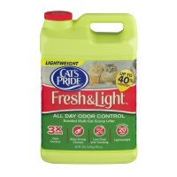 Cat's Pride Fresh & Light All Day Odor Control Scented Multi-Cat Scoop Litter 12 lbs