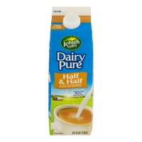 Dairy Pure Half And Half Ultra-Pasturized (Smith's) - 1 QT / 946 ML