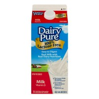 Fresh Milk Dairy Pure Whole Lactose Free (Smith's) - .5 GL