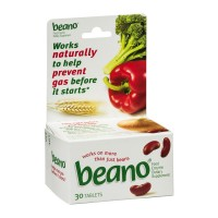 Beano Food Enzyme Dietary Supplement Tablets - 30 CT