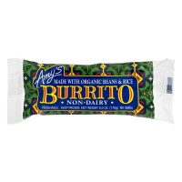 Amy's Non-Dairy Burrito Organic Beans And Rice - 6.0