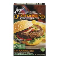 Amy's Quarter Pound Veggie Burger - 4 CT / 16.0 OZ