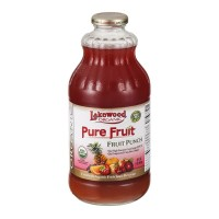Lakewood Organic Juice - Pure Fruit -Fruit Punch - 32.0 FL OZ