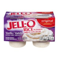 JELL-O - Rice Pudding - Vanilla - 4 CT