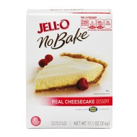 JELL-O No Bake Real Cheesecake Dessert - 11.1 OZ