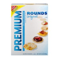 Nabisco Premium Rounds Saltine Crackers - 10.0 OZ
