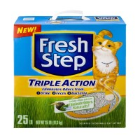 Fresh Step Cat Litter - Scented - Scoopable - Triple Action 25 LB