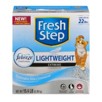 Fresh Step Lightweight Febreze Freshness Extreme Clumping Cat Litter - 15.4 LBS