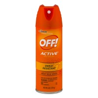 OFF! Active Insect Repellent I Sweat Resistant 6 OZ
