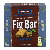 Nature's Bakery Fig Bar Blueberry - 6 CT / 12.0 OZ