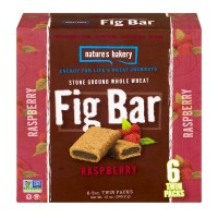 Nature's Bakery Fig Bar Raspberry - 6 CT / 12.0 OZ