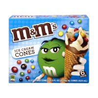 MandMs Ice Cream Cones - 6 CT - 18.6 FL OZ